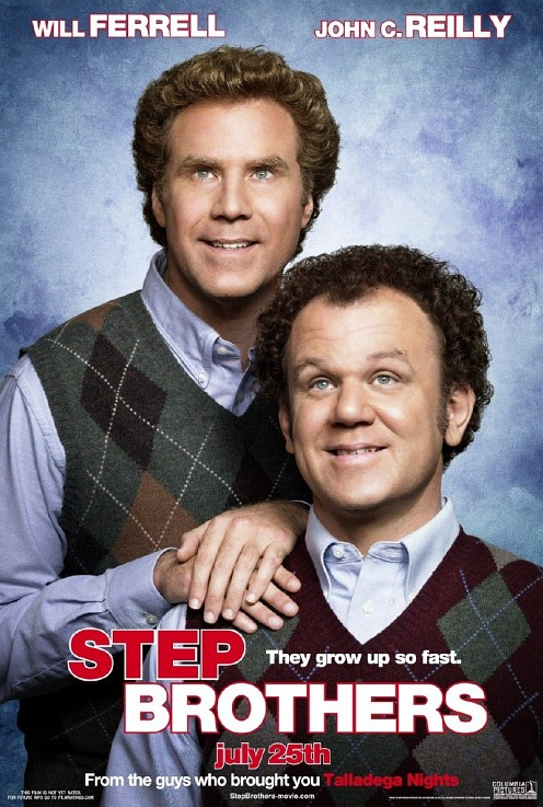Step Brothers poster - Will Ferrell és John C. Reilly