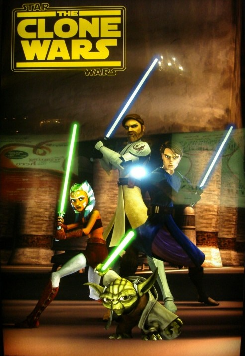 Star Wars new Clone Wars poszter