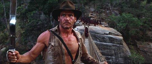 Indiana Jones és a végzet temploma - a hidas jelenet!