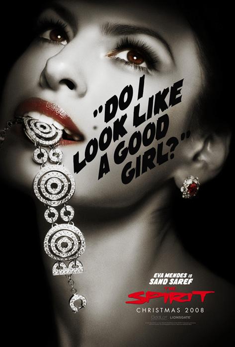 New Spirit poster - Eva Mendes