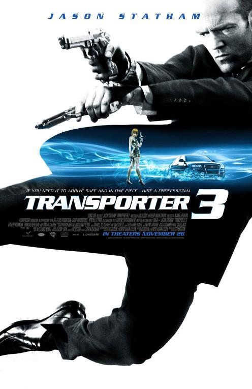 Transpoter 3 poszter - Statham stukikkal