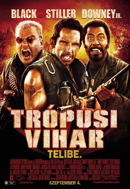 Magyar Tropic Thunder plakát