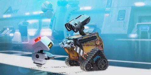 Wall-e és M-o dumál