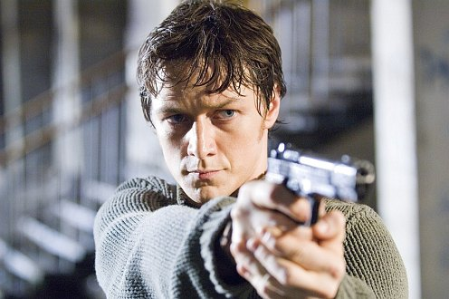 Wanted - James McAvoy stukival