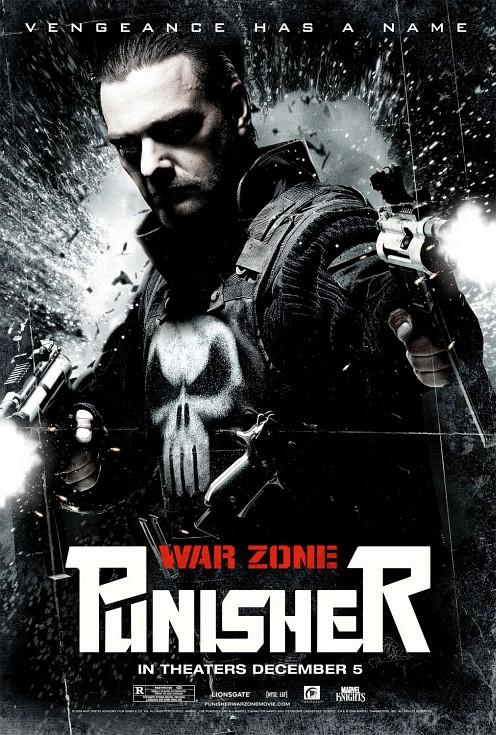 Punisher: War Zone final poszter