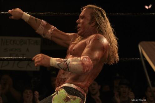 The Wrestler pics