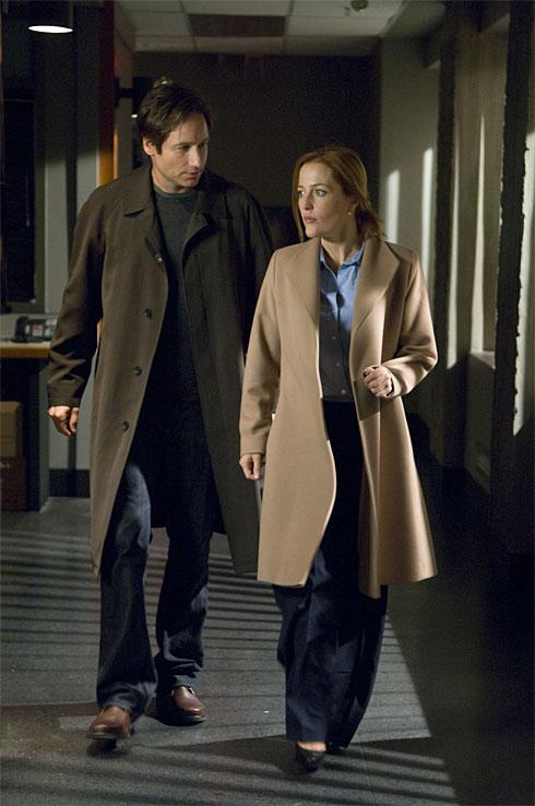 X-Files 2 képek - David Duchovny és Gilian Anderson