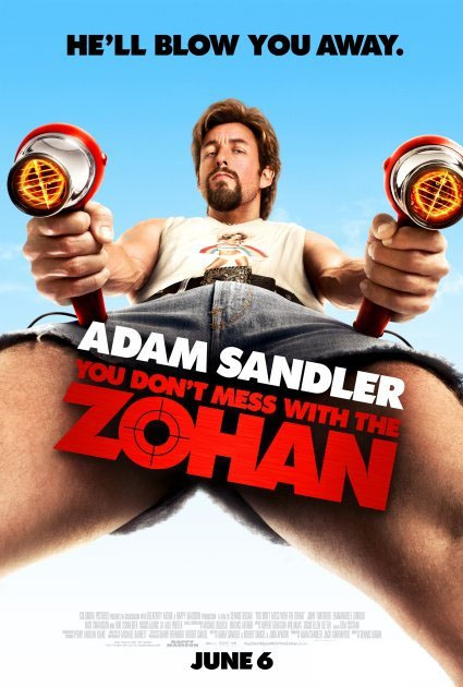 the new Zohan poster