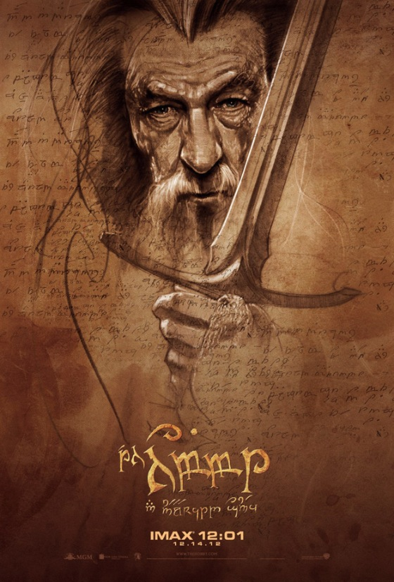 hobbit imax posztere