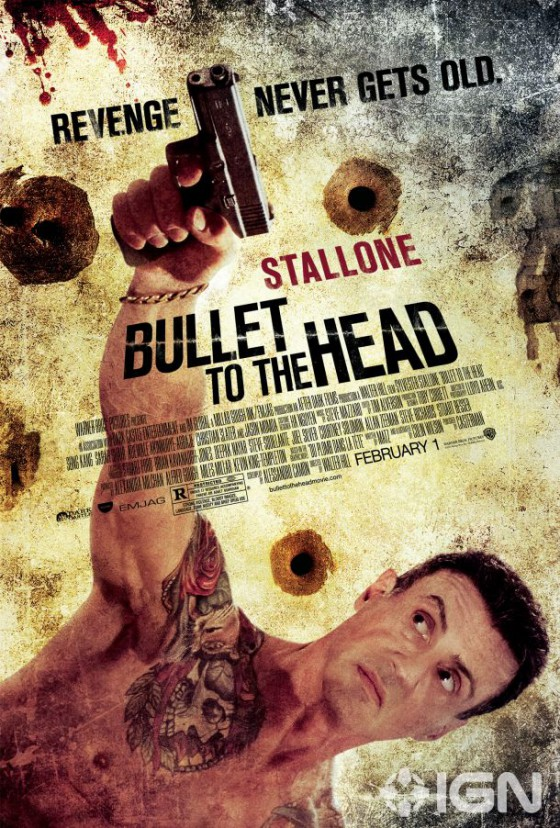 A Bullet To The Head posztere
