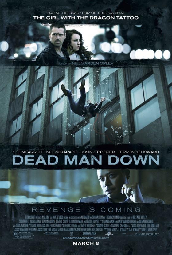 a dead man down posztere