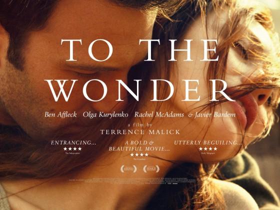 To The Wonder fekvoposzter