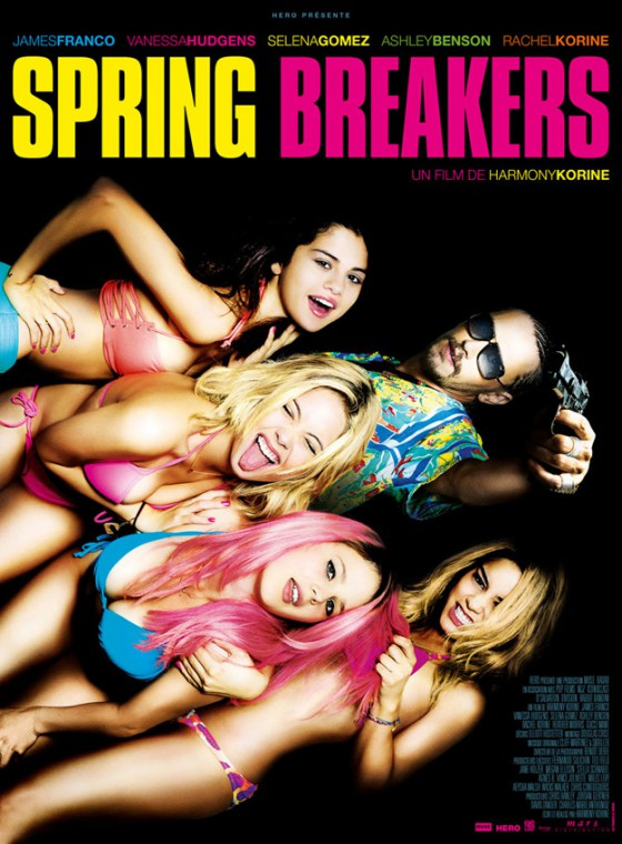 A Spring Breakers posztere