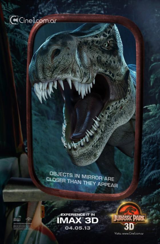 Jurassic Park 3d posztere