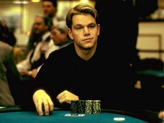 Matt Damon pókerarca a Roudnersben