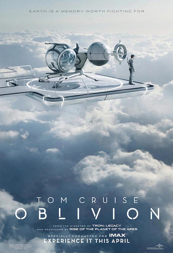 Az Oblivion IMAX posztere