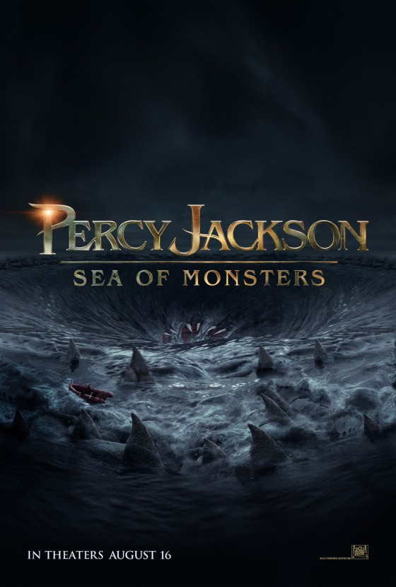 a percy jackson sea of monsters posztere