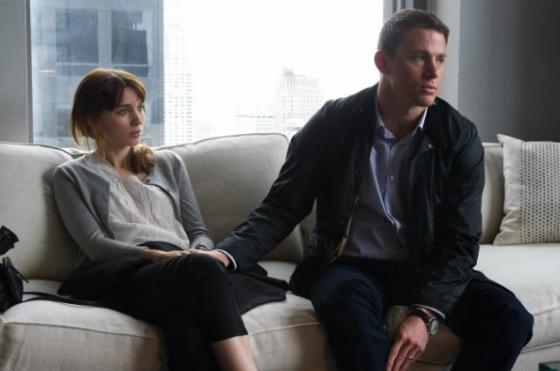 A Side Effects főszereplői: Rooney Mara és Tatum