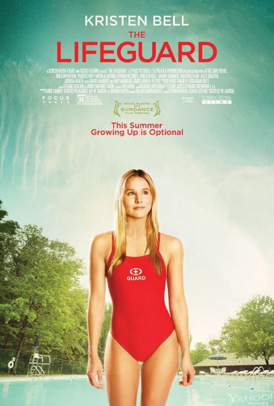 A Lifeguard posztere: Kristen bell a képen