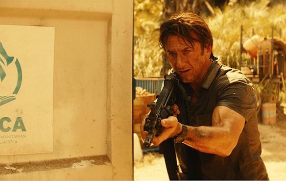 Sean Penn a Gunmanben