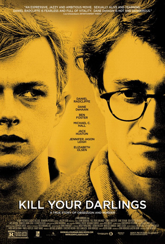A kill your darlings posztere