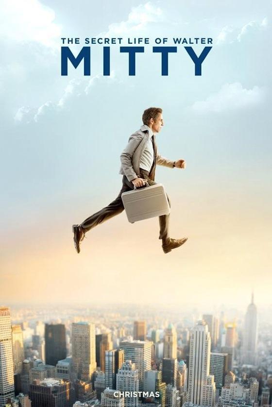 Ben Stiller a Secret Life of Walter Mitty poszterén