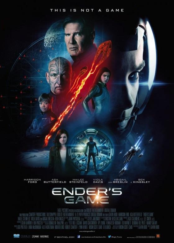 new ender's game poster