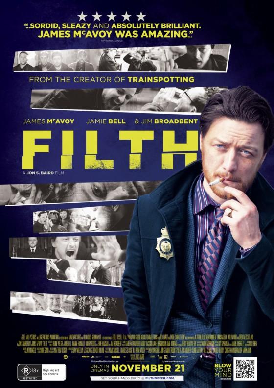 a Filth posztere
