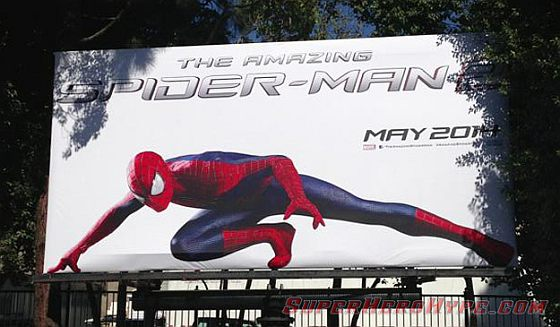 Spider man at the Sony Pictures Lot