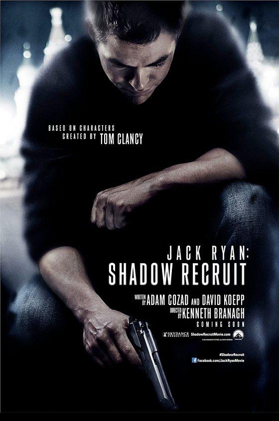 a Jack Ryan: Shadow Recruit első posztere