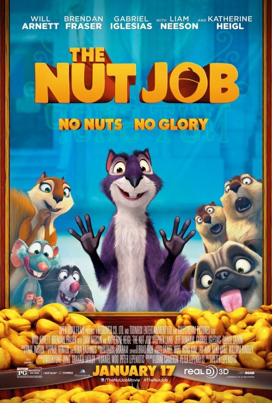 a nut job posztere