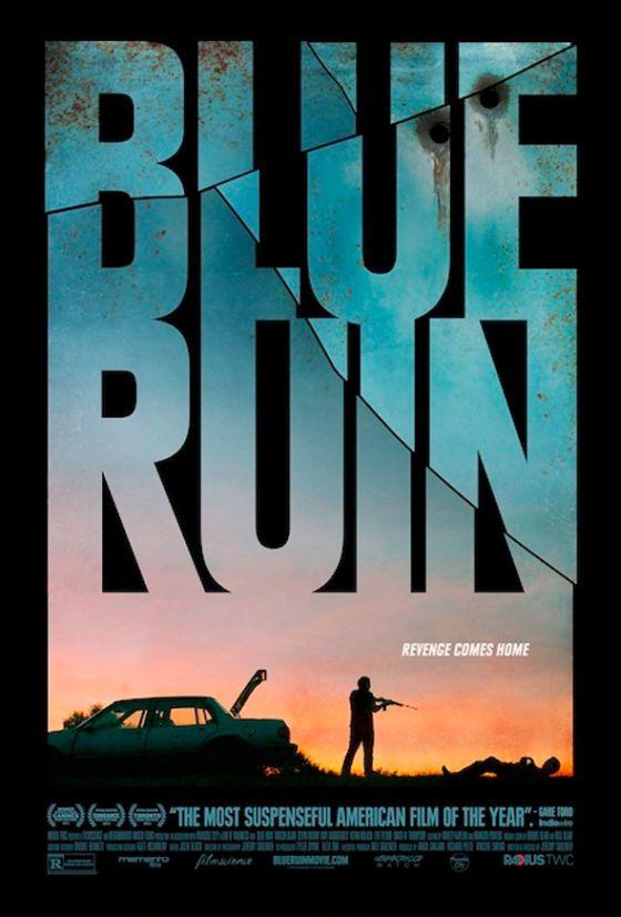 a blue ruin posztere