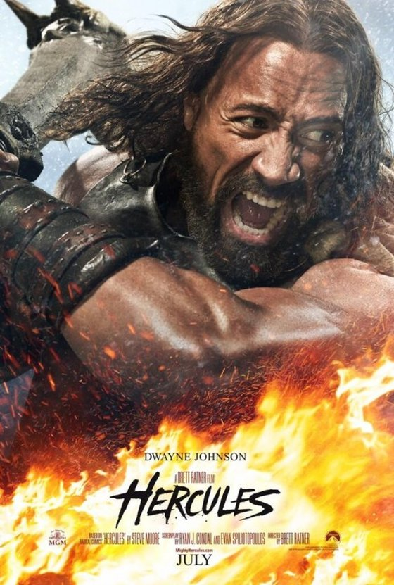 Hercules poszter Rockkal