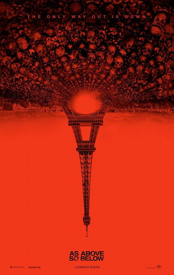as above so below teaser poster