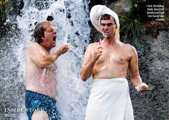 dumb és dumber zuhanyzik