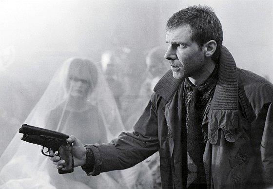 Harrison Ford as Deckard in Blade Runner