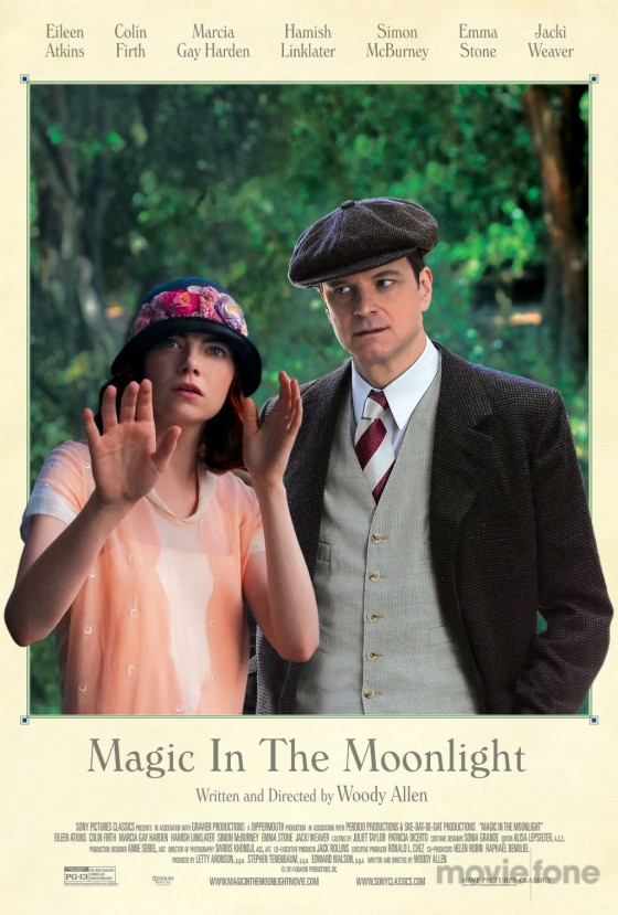 A Magic in the Moonlight posztere