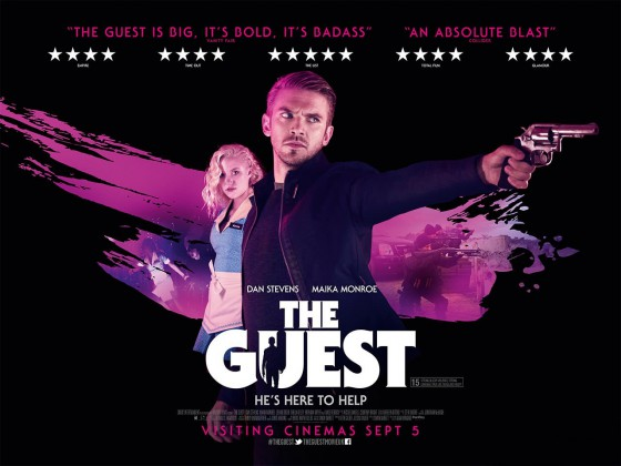 A The Guest friss posztere