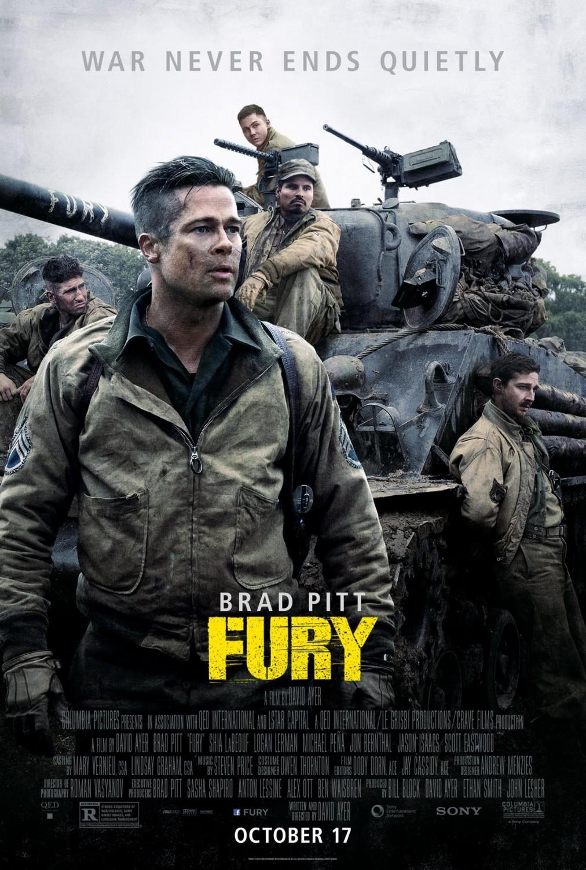 A Fury posztere