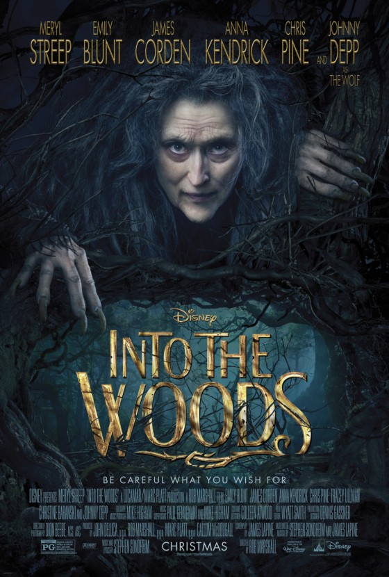 into the woods poszter