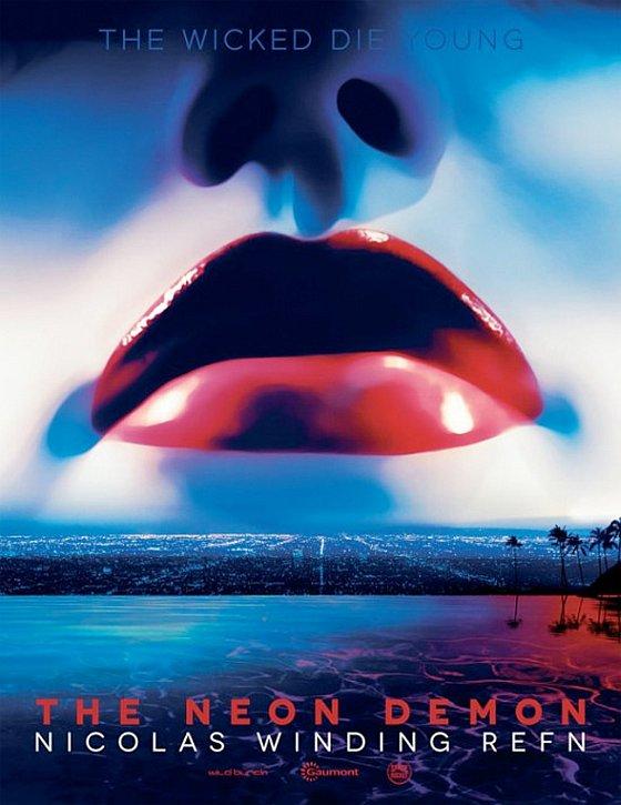 neon demon promóciós posztere