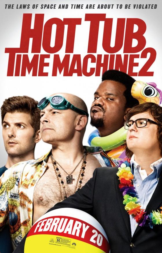 a Hot Tub Time Machine 2 posztere