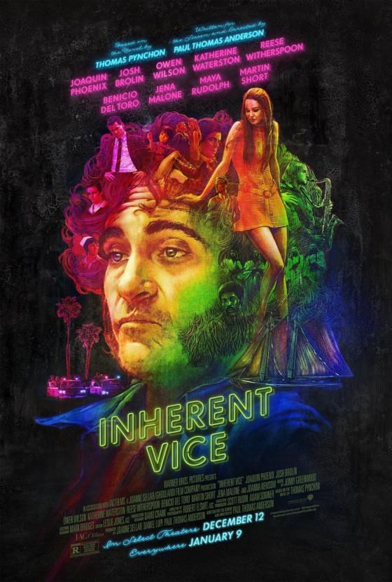 Az Inherent Vice füves kinézetű posztere