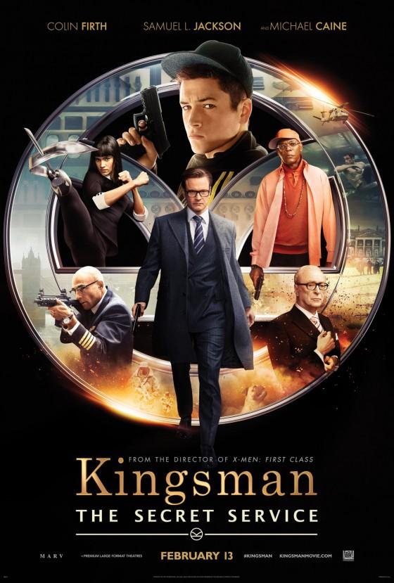 A Kingsman új, Bond paródiás posztere