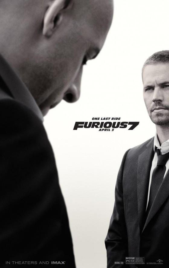 a Furious 7 posztere