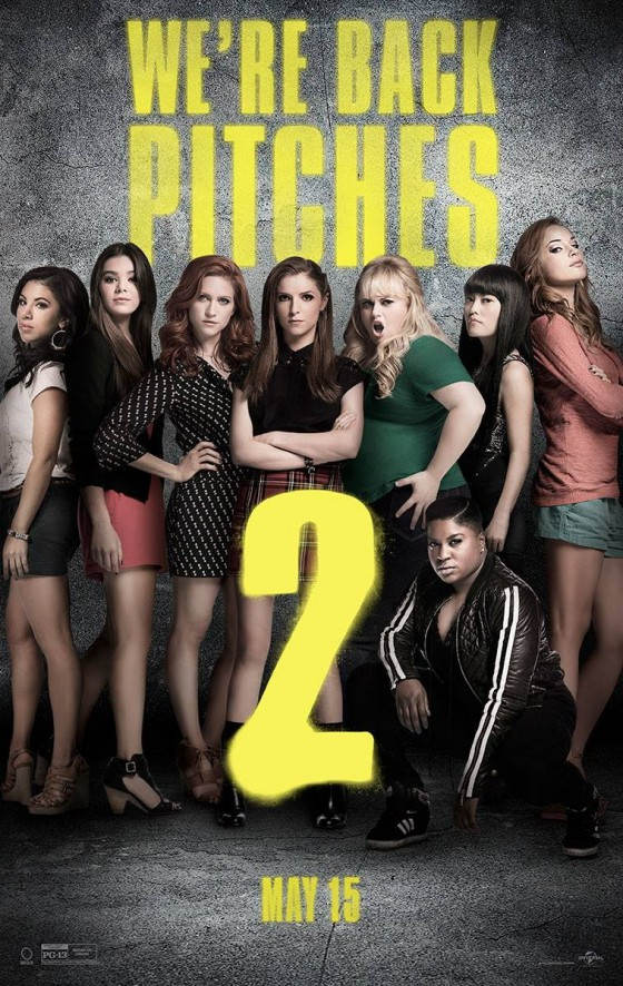 a pitch perfect 2 posztere