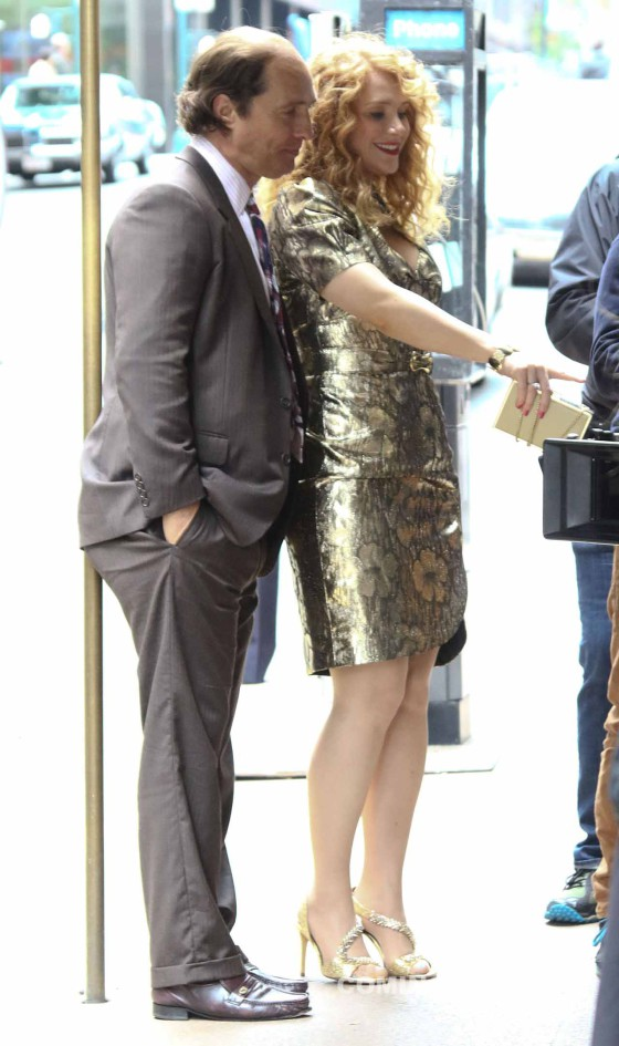 Stars On A Set Of 'Gold' In New York City