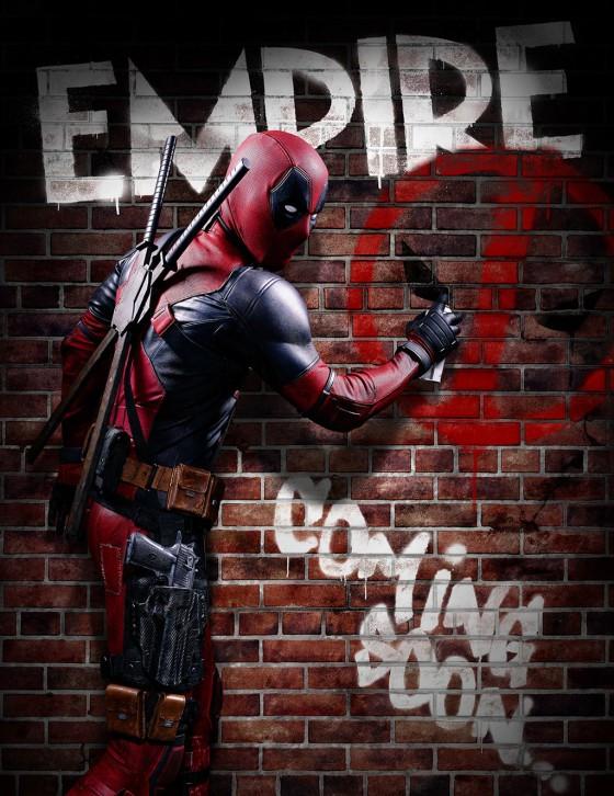Deadpool az Empire címlapján