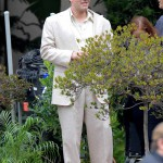 Ben Affleck spotted on the set of 'Live By Night'