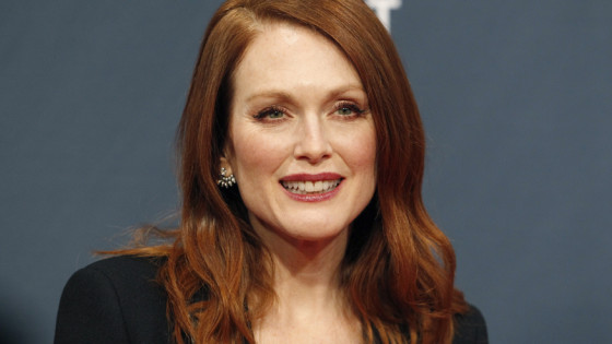 Actress Julianne Moore arrives at the 2015 Canadian Screen Awards in Toronto